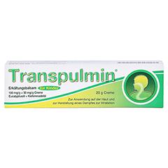 Transpulmin Erkältungsbalsam für Kinder 20 Gramm - Vorderseite