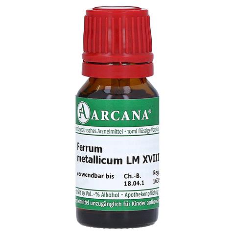 FERRUM METALLICUM LM 18 Dilution 10 Milliliter N1