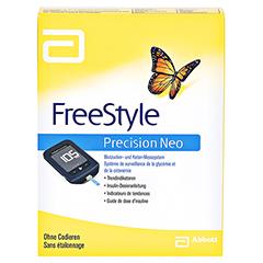 FREESTYLE Precision Neo Blutzuckermesssyst.mg/dl 1 Stück - Vorderseite