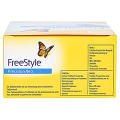 FREESTYLE Precision Neo Blutzuckermesssyst.mg/dl 1 Stück - Unterseite