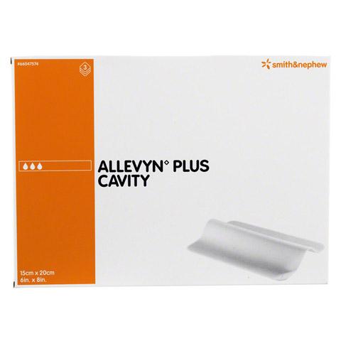 ALLEVYN Plus Cavity 15x20 cm hydroselekt.Wundaufl. 3 Stück