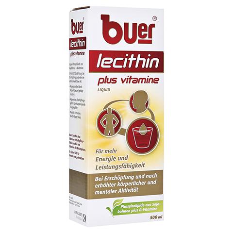 BUER LECITHIN Plus Vitamine flüssig 500 Milliliter