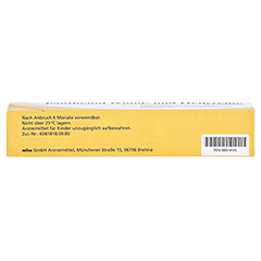 Panthenol Wund- und Heilcreme JENAPHARM 50mg/g 50 Gramm N2 - Unterseite