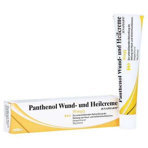 Panthenol Wund- und Heilcreme JENAPHARM 50mg/g 50 Gramm N2