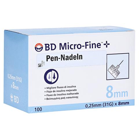 BD MICRO-FINE+ 8 Pen-Nadeln 0,25x8 mm 100 Stück