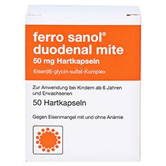 Ferro sanol duodenal mite 50mg 50 Stück N2 - Vorderseite