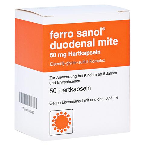 Ferro sanol duodenal mite 50mg 50 Stück N2