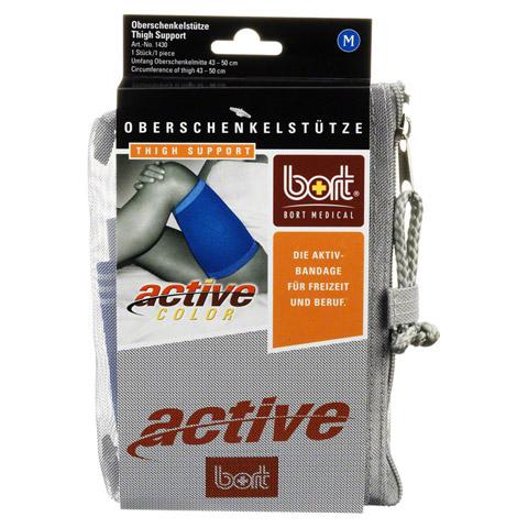 BORT ActiveColor Oberschenkelstütze medium blau 1 Stück