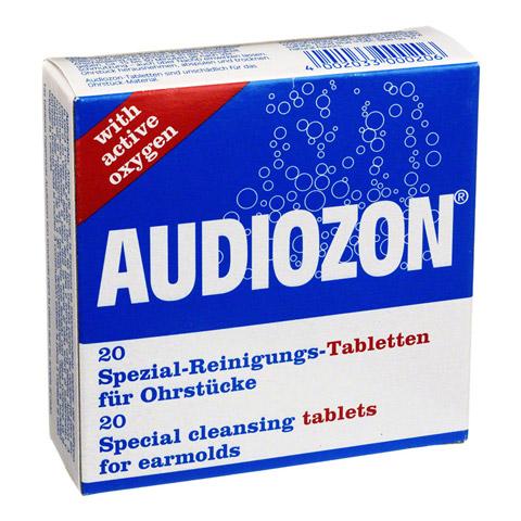 AUDIOZON Spezial-Reinigungs-Tabletten 20 Stück