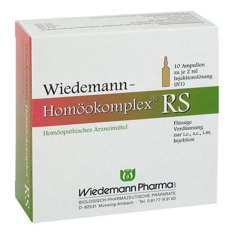 WIEDEMANN Homöokomplex RS Ampullen 10x2 Milliliter N1