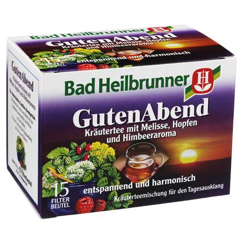 BAD HEILBRUNNER Guten Abend Kräuter Tee Filterbtl. 15x2.0 Gramm