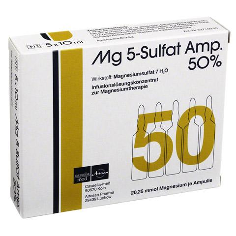 MG 5 Sulfat Amp. 50% Infusionslösungskonzentrat 5 Stück N1