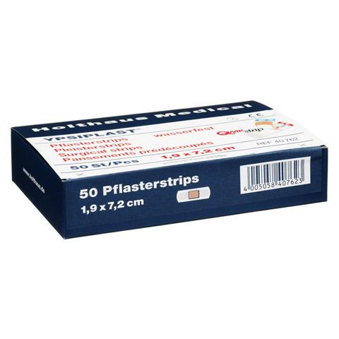 PFLASTERSTRIPS Ypsiplast wasserf.1,9x7,2 cm 50 Stück