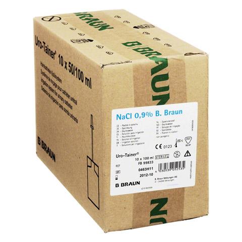 URO TAINER Natrium Chlorid Lösung 0,9% 10x100 Milliliter