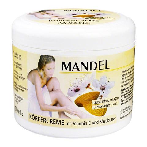 MANDEL KÖRPERCREME Q10+Vitamin E 500 Milliliter