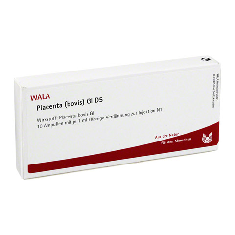 PLACENTA BOVIS GL D 5 Ampullen 10x1 Milliliter N1