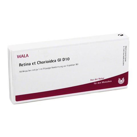 RETINA ET Chorioidea GL D 10 Ampullen 10x1 Milliliter N1