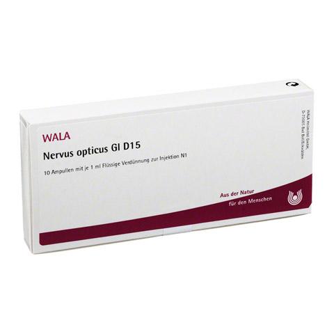 NERVUS OPTICUS GL D 15 Ampullen 10x1 Milliliter N1