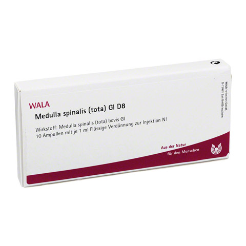 MEDULLA SPINALIS TOTA GL D 8 Ampullen 10x1 Milliliter N1