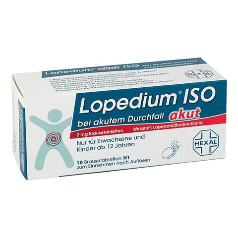 Lopedium akut ISO bei akutem Durchfall 10 Stück N1