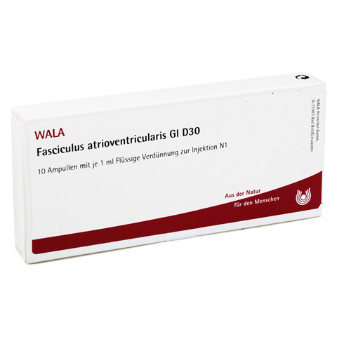 FASCICULUS atrioventricularis GL D 30 Ampullen 10x1 Milliliter N1