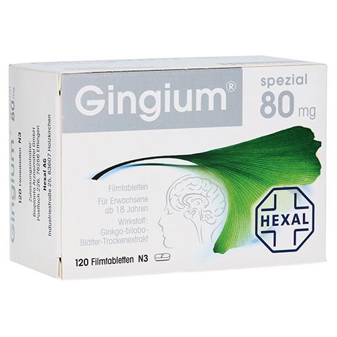 Gingium spezial 80mg 120 Stück N3