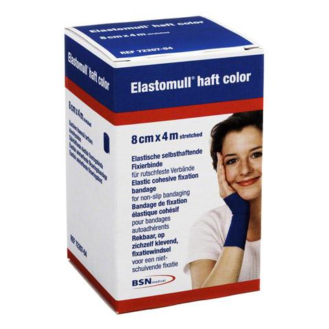 ELASTOMULL haft color 8 cmx4 m Fixierb.blau 1 Stück