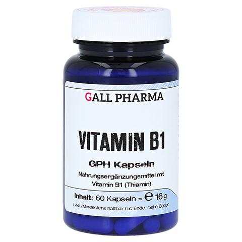 VITAMIN B1 GPH 1,4 mg Kapseln 60 Stück