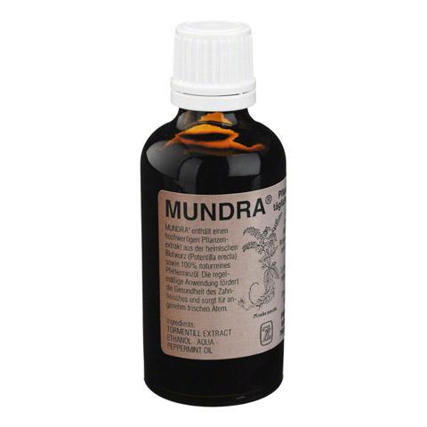MUNDRA pflanzliches Mundpflegeprodukt Lösung 50 Milliliter