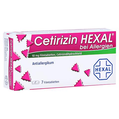 Cetirizin HEXAL bei Allergien 7 Stück