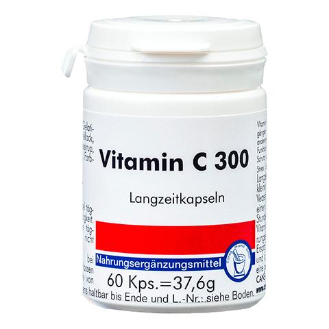 VITAMIN C 300 Langzeitkapseln 60 Stück