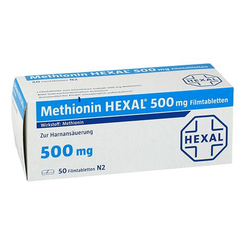 METHIONIN HEXAL 500 mg Filmtabletten 50 Stück N2
