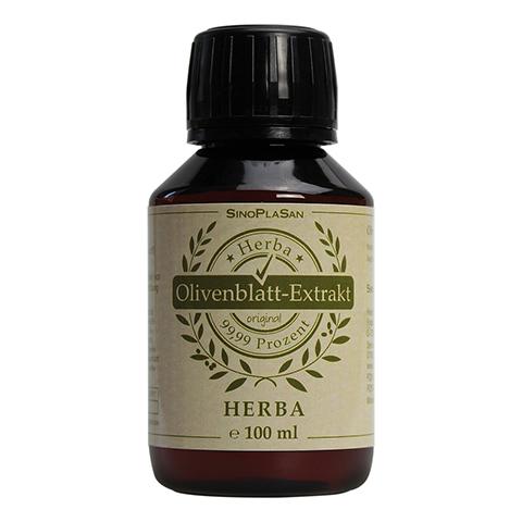 OLIVENBLATT-Extrakt Herba 100 Milliliter