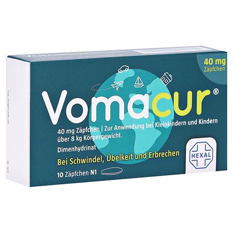 Vomacur 40mg 10 Stück N1