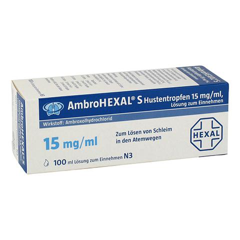 AmbroHEXAL S Hustentropfen 15mg/ml 100 Milliliter N3