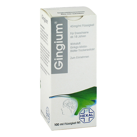 Gingium 40mg/ml 100 Milliliter N1