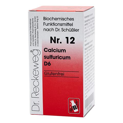 BIOCHEMIE 12 Calcium sulfuricum D 6 Tabletten 200 Stück N2