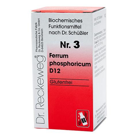 BIOCHEMIE 3 Ferrum phosphoricum D 12 Tabletten 200 Stück N2