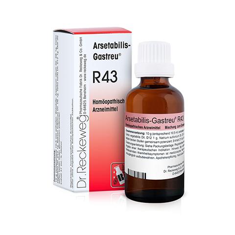 ARSETABILIS Gastreu R 43 Tropfen zum Einnehmen 50 Milliliter N1