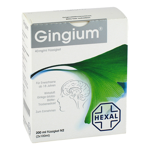 Gingium 40mg/ml 2x100 Milliliter N2