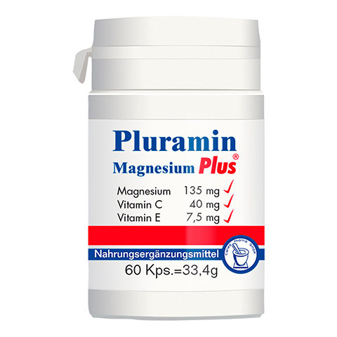 PLURAMIN Magnesium plus Kapseln 60 Stück