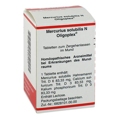 MERCURIUS SOLUBILIS N Oligoplex Tabletten 150 Stück N1