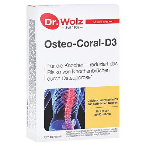 OSTEO CORAL D3 Dr.Wolz Kapseln 60 Stück