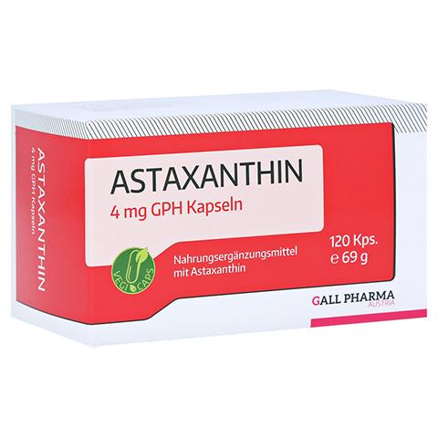 ASTAXANTHIN 4 mg GPH Kapseln 120 Stück