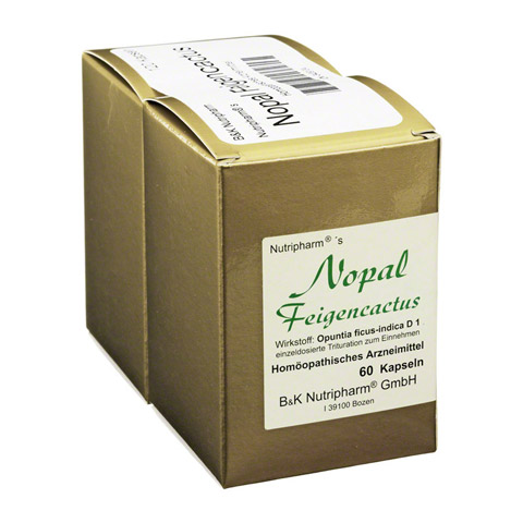 NOPAL Feigencactus Kapseln 120 Stück N1