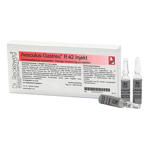 AESCULUS GASTREU R 42 Injekt Ampullen 10x2 Milliliter N1