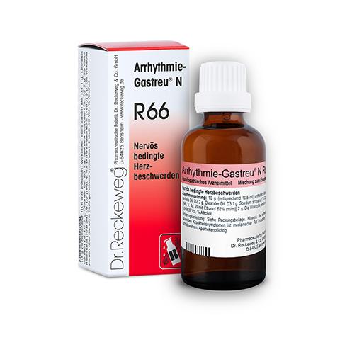 ARRHYTHMIE-GASTREU N R 66 Tropfen zum Einnehmen 50 Milliliter N1