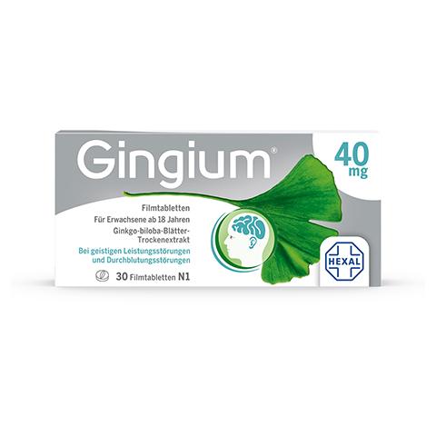 Gingium 40mg 30 Stück N1