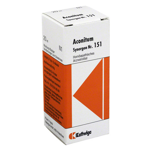 SYNERGON KOMPLEX 151 Aconitum Tropfen 20 Milliliter