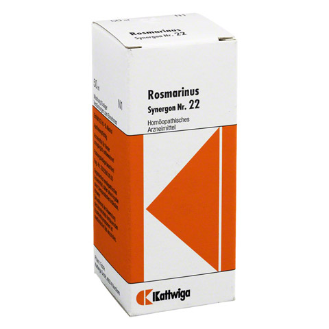 SYNERGON KOMPLEX 22 Rosmarinus Tropfen 50 Milliliter N1